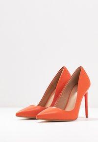 Even&Odd - LEATHER PUMP - High heels - orange - 4