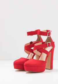 Even&Odd - High heels - coral - 4