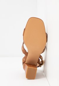 Even&Odd - Korolliset sandaalit - cognac - 6