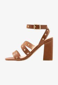 Even&Odd - High heeled sandals - cognac - 1