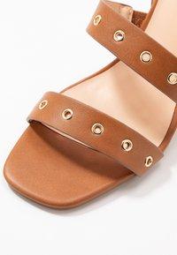 Even&Odd - High heeled sandals - cognac - 2