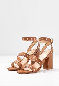 Even&Odd - High heeled sandals - cognac - 4