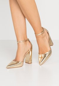 Even&Odd - Zapatos altos - gold - 0