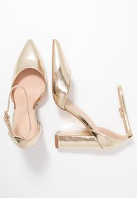 Even&Odd - Zapatos altos - gold - 3