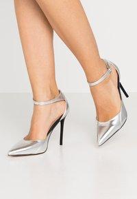 Even&Odd - Zapatos altos - silver - 0