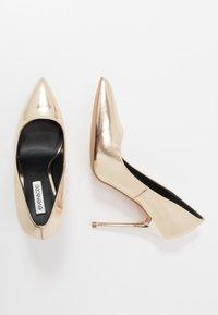 Even&Odd - Zapatos altos - gold - 3