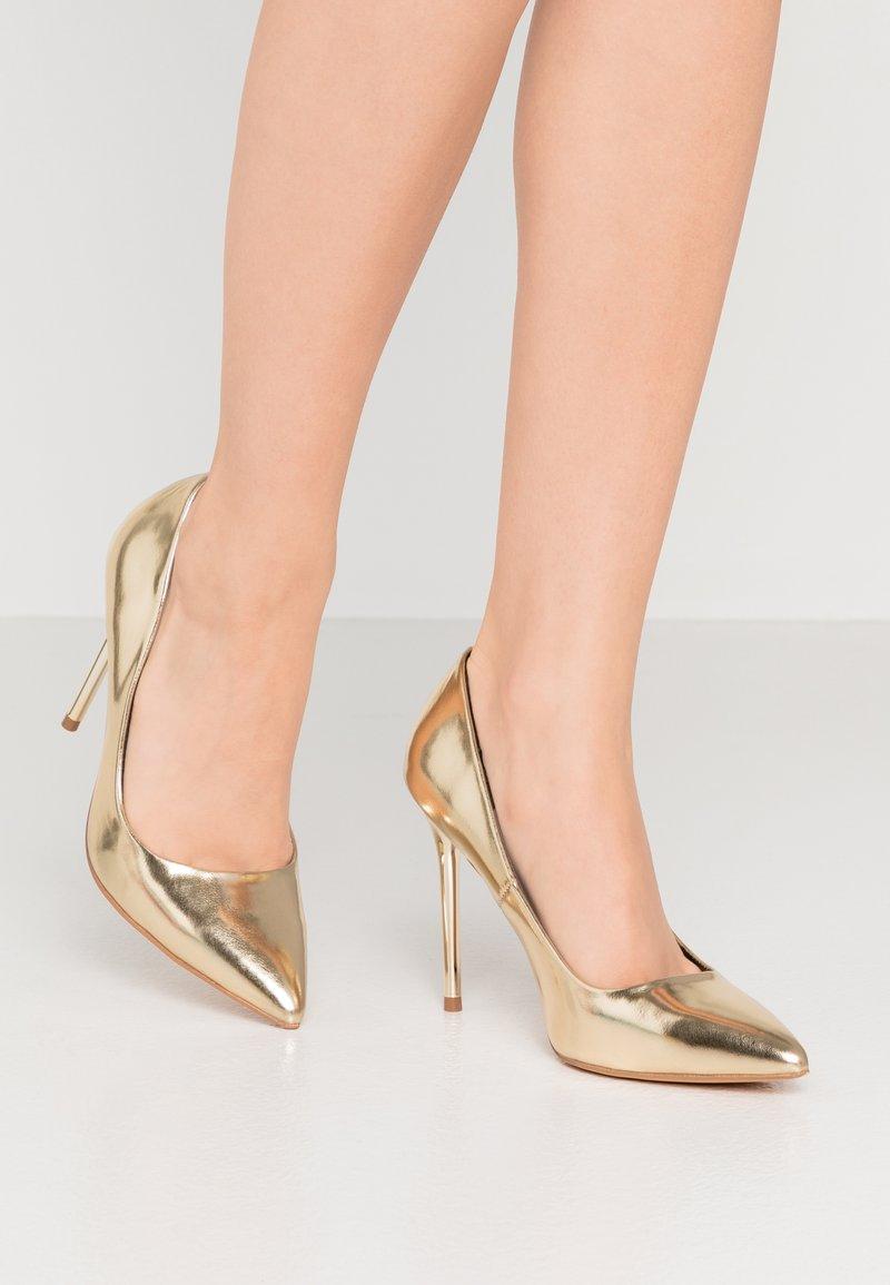 Even&Odd - Zapatos altos - gold