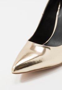Even&Odd - Zapatos altos - gold - 2