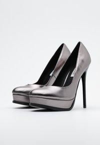 Even&Odd - Zapatos altos - gunmetal - 2