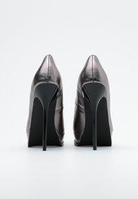 Even&Odd - Zapatos altos - gunmetal - 3