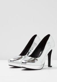 Even&Odd - Klassiska pumps - silver - 4