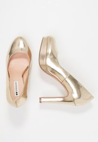 Even&Odd - Klassiska pumps - gold - 3