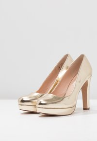 Even&Odd - Klassiska pumps - gold - 4