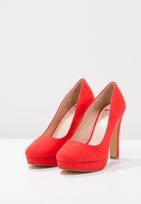 Even&Odd - Klassiska pumps - red - 3