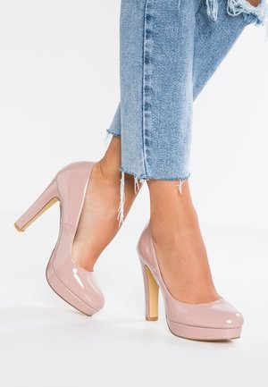 Klassiska pumps - rose