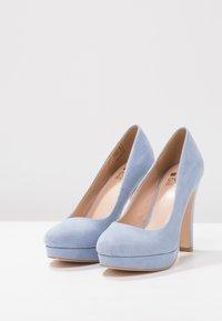 Even&Odd - Klassiska pumps - light blue - 3