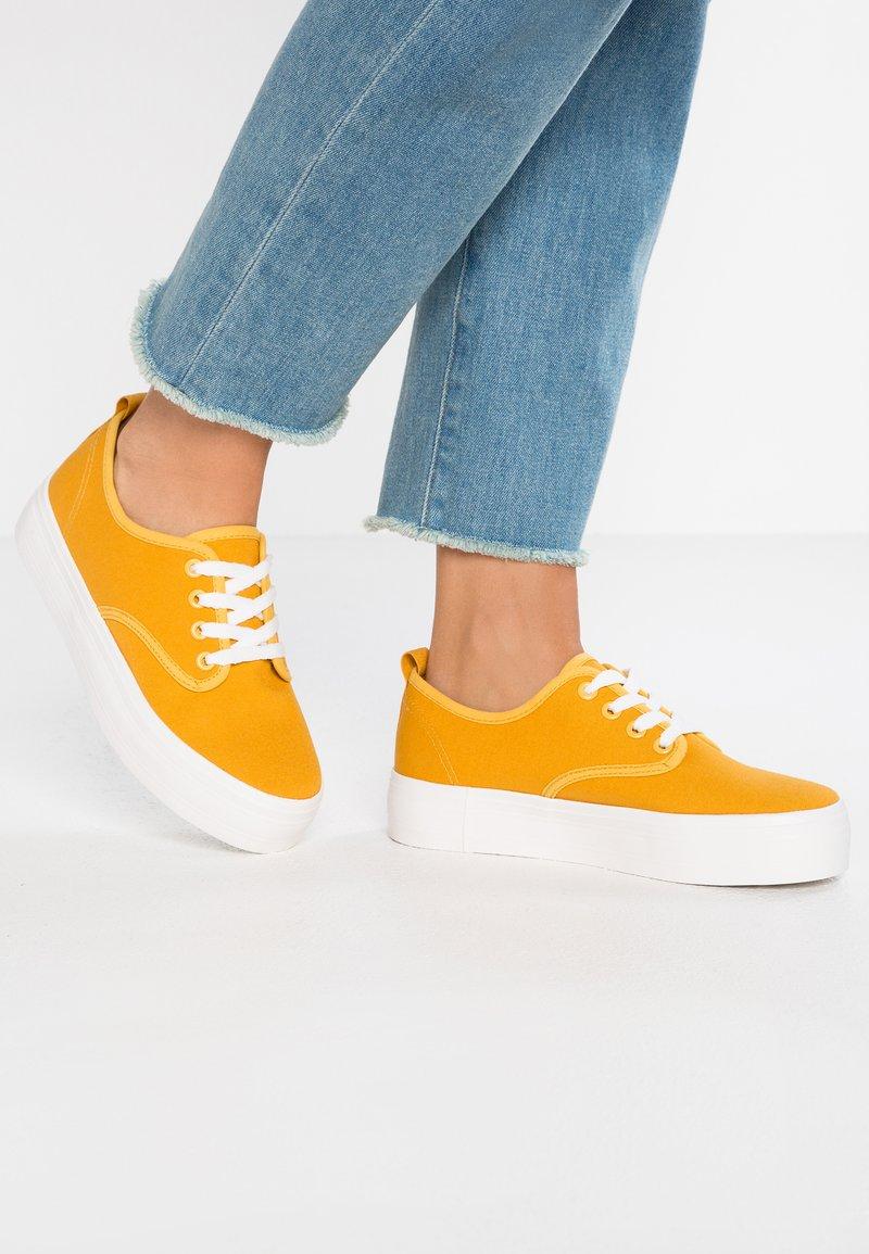 Even&Odd - Trainers - mustard