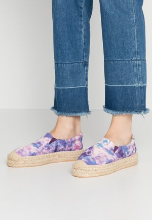 Loafers - pink/blue