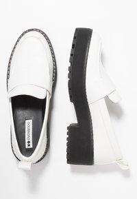 Even&Odd - Nazouvací boty - white - 3
