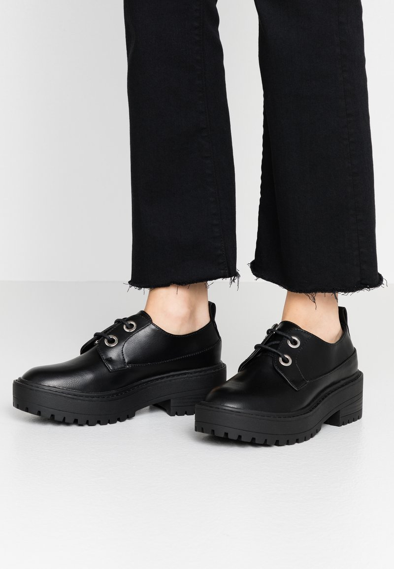Even&Odd - Lace-ups - black