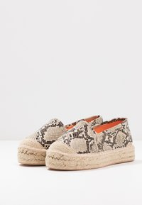 Even&Odd - Espadrilles - beige/brown - 4
