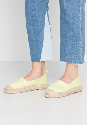 Espadrilles - light yellow