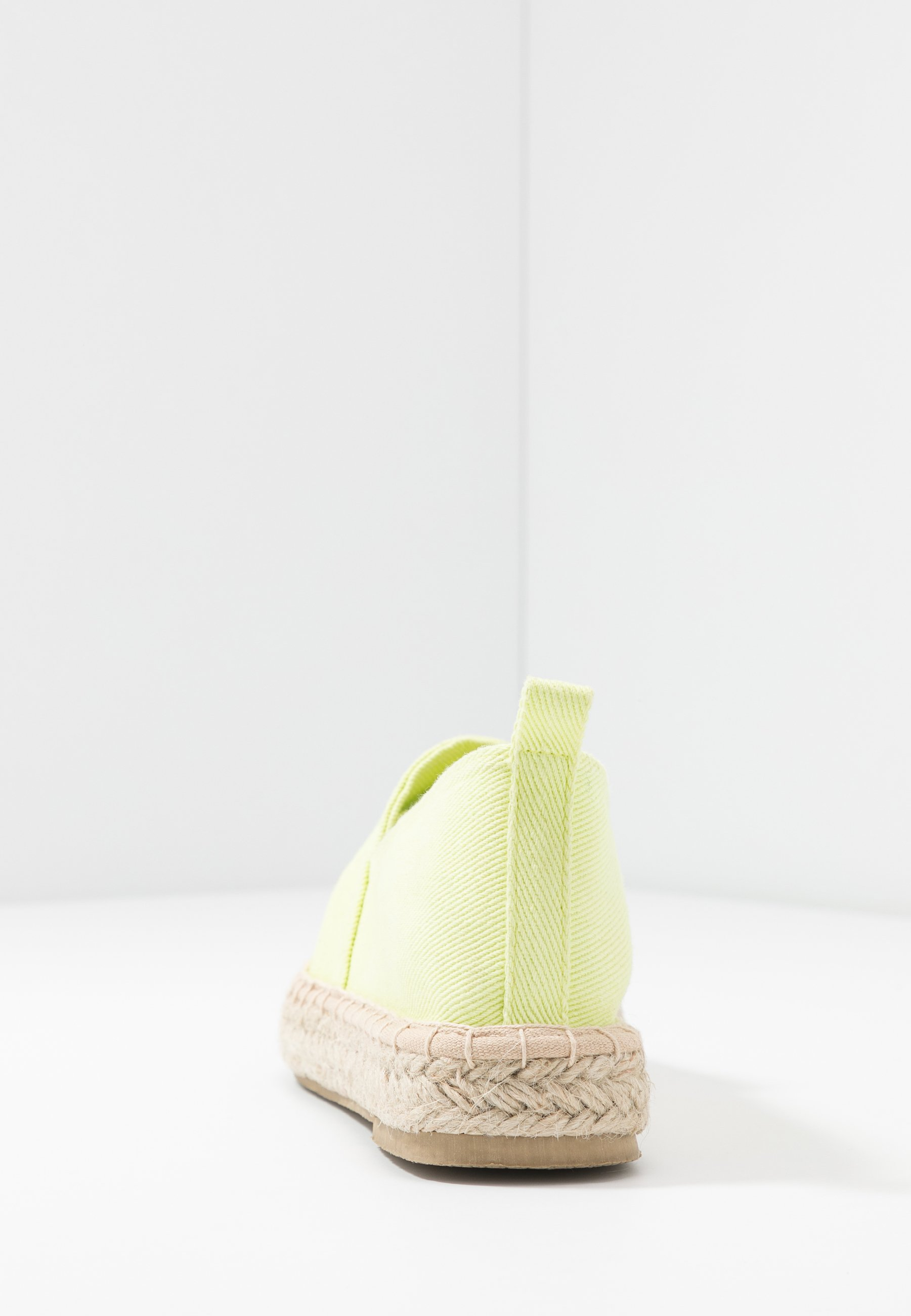 Even&odd Espadrillas - Light Yellow
