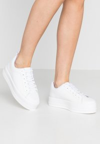 Even&Odd - LEATHER - Sneakers - white - 0
