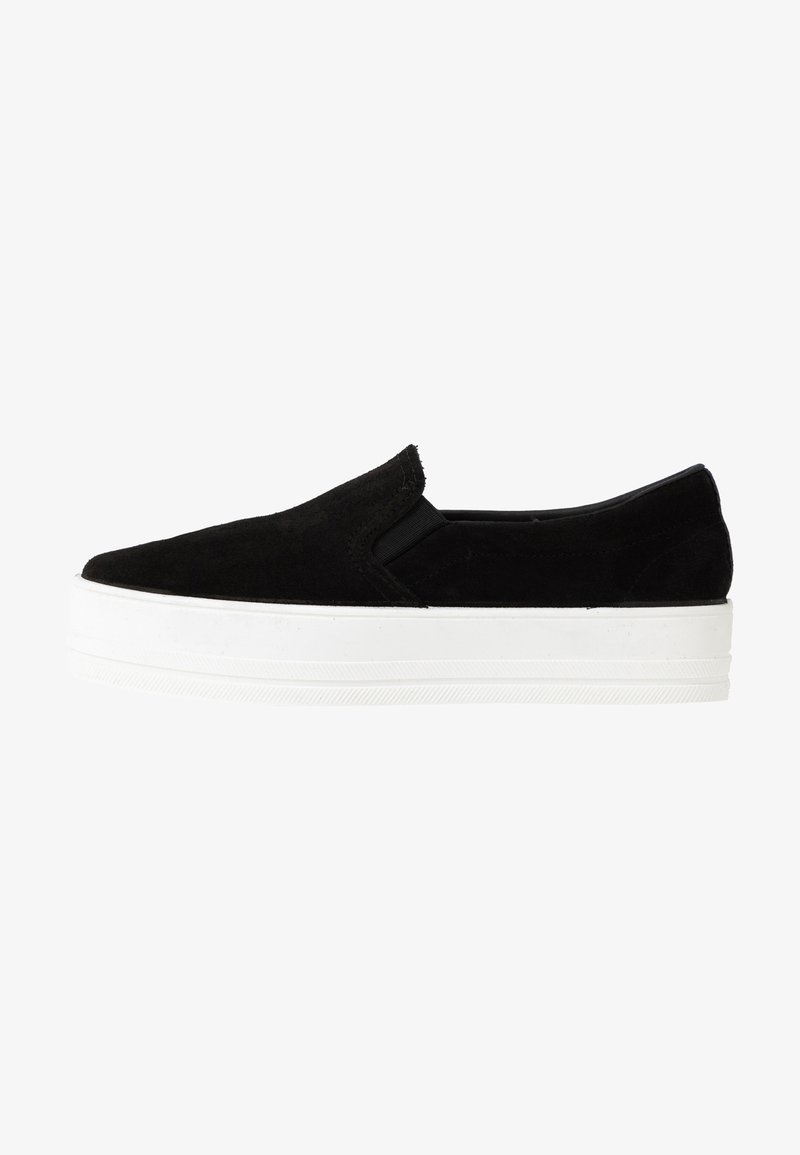 Even&Odd - LEATHER - Slippers - black