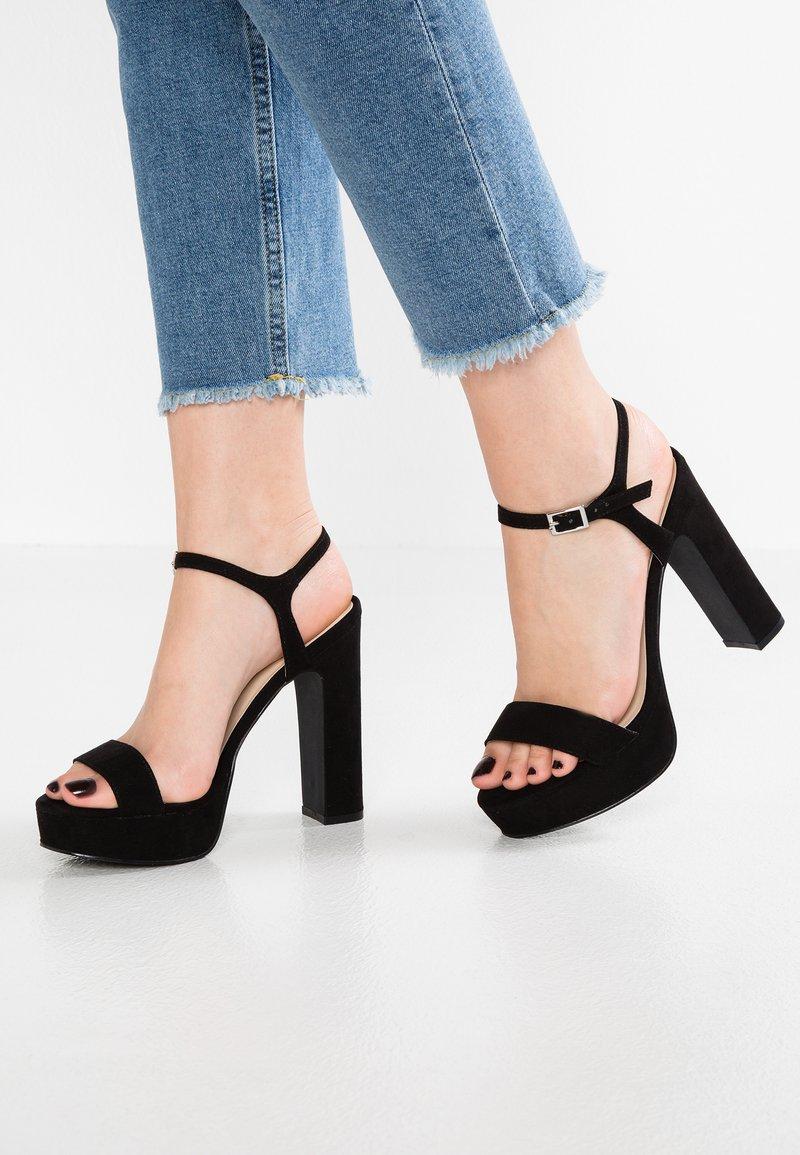Even&Odd - High heeled sandals - black