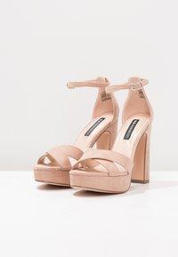 Even&Odd - Sandaler med høye hæler - rose - 4