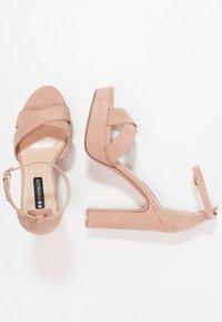 Even&Odd - Sandaler med høye hæler - rose - 3