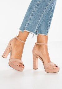 Even&Odd - Sandaler med høye hæler - rose - 0