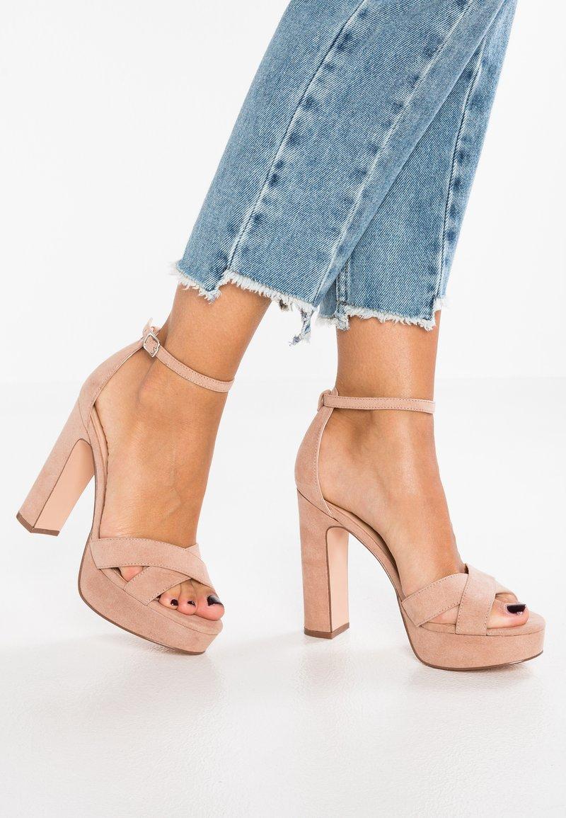 Even&Odd - Sandaler med høye hæler - rose