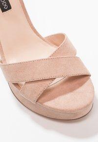 Even&Odd - Sandaler med høye hæler - rose - 2
