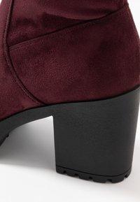 Even&Odd - High heeled boots - bordeaux - 2