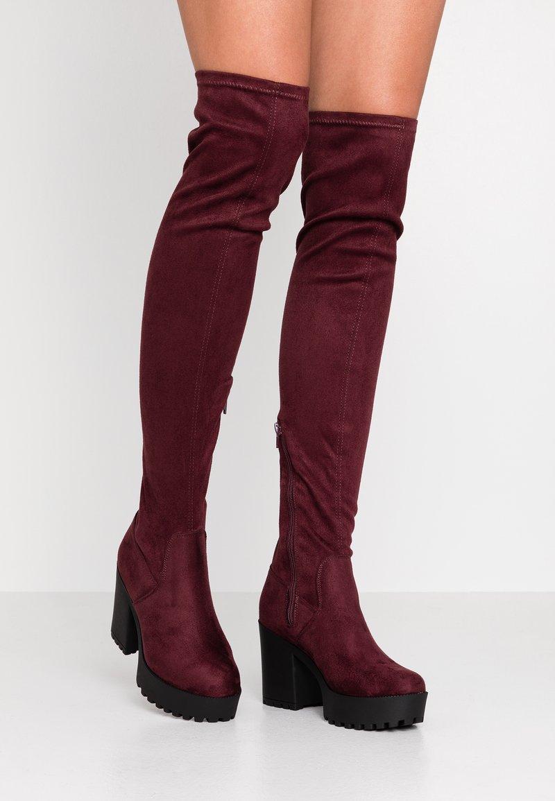 Even&Odd - High Heel Stiefel - bordeaux