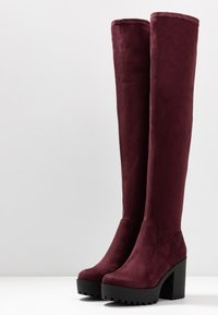 Even&Odd - High heeled boots - bordeaux - 4