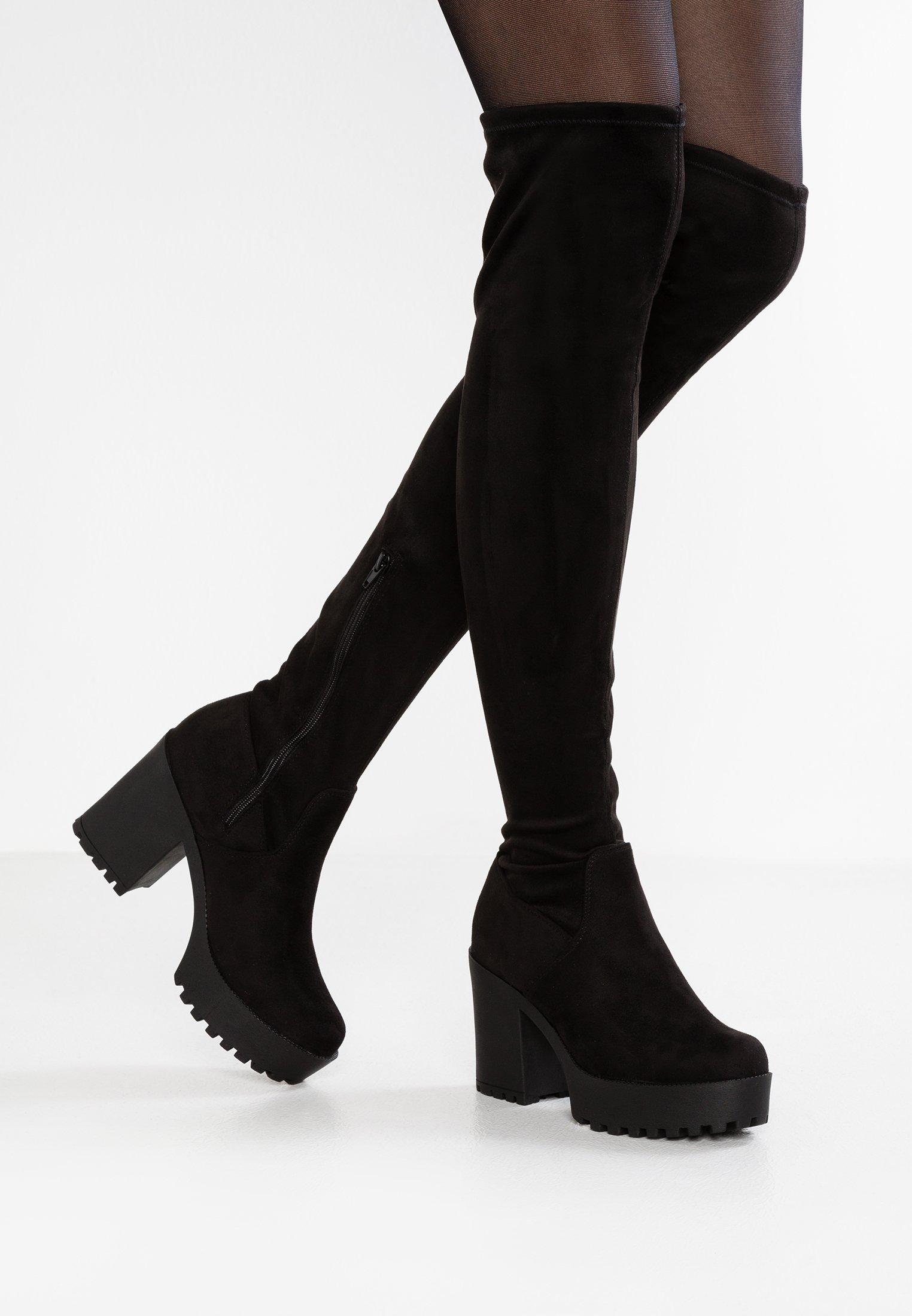 Even&Odd Stivali con i tacchi black
