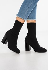 Even&Odd - Bottines à talons hauts - black - 0