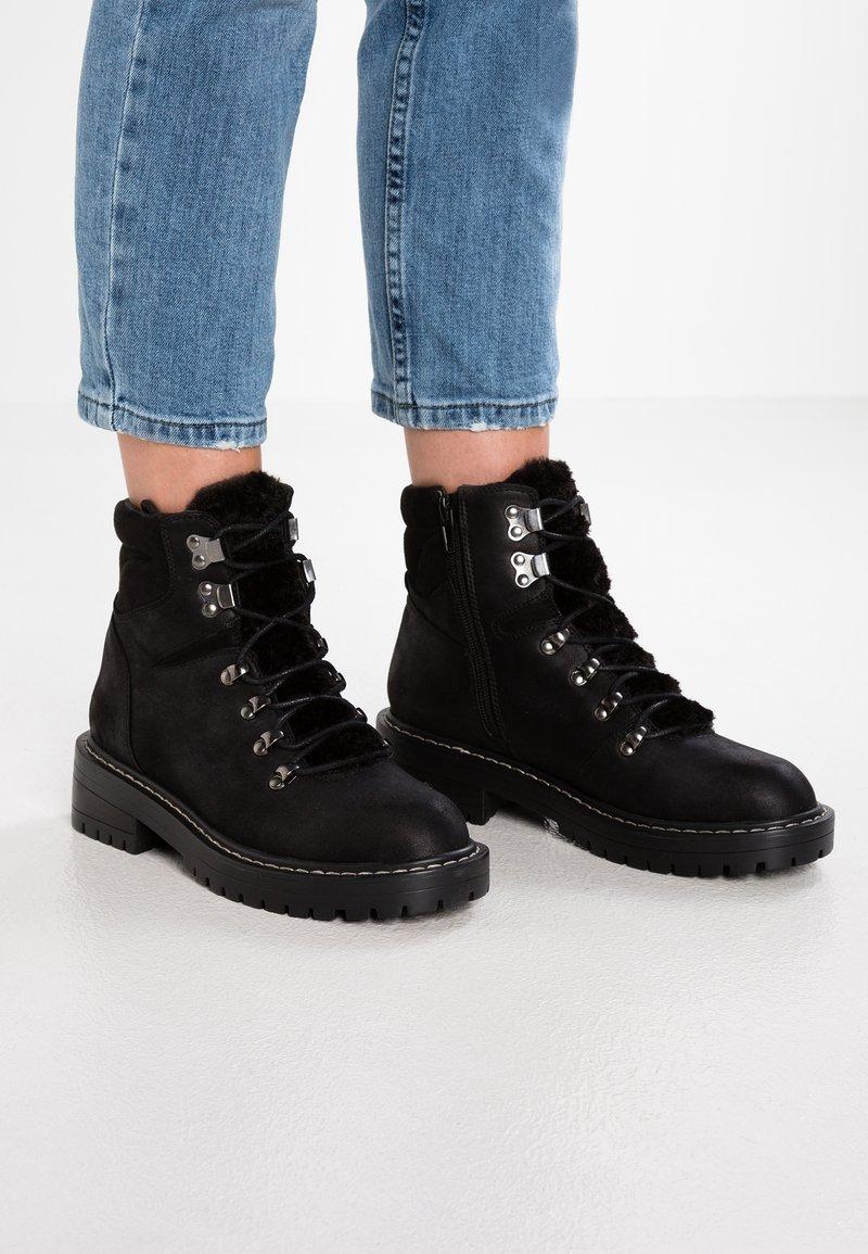 Even&Odd - Snørestøvletter - black