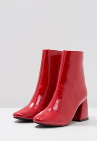 Even&Odd - Classic ankle boots - red - 4