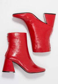 Even&Odd - Classic ankle boots - red - 3