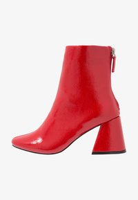 Even&Odd - Classic ankle boots - red - 1