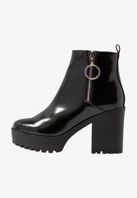 Even&Odd - Ankelboots med høye hæler - black - 0