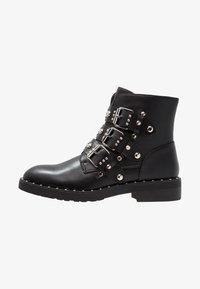 Even&Odd - Cowboy/biker ankle boot - black - 1