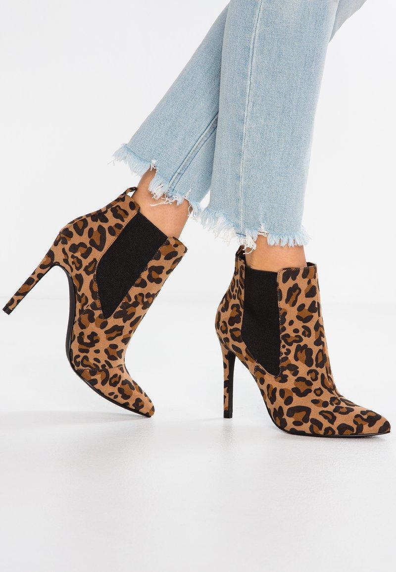 Even&Odd - High Heel Stiefelette - brown