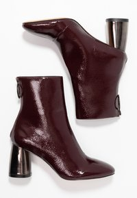 Even&Odd - Classic ankle boots - bordeaux - 3