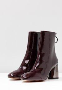 Even&Odd - Classic ankle boots - bordeaux - 4