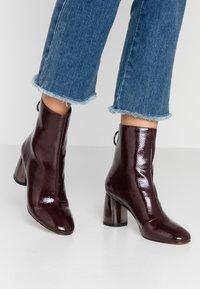 Even&Odd - Classic ankle boots - bordeaux - 0